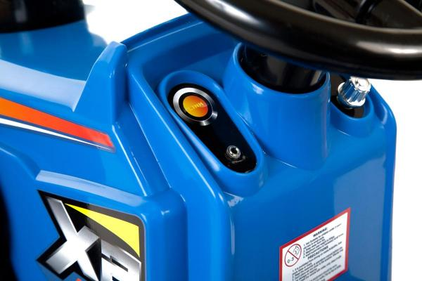 Electric Ride on Tractors - 12v - Blue-7640