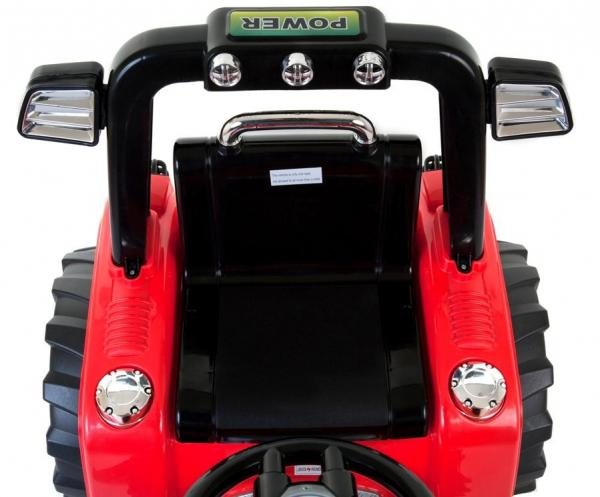 Electric kids ride on tractor - 12v - Red-7614