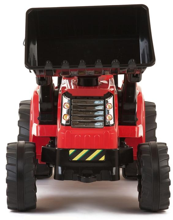 Electric kids ride on tractor - 12v - Red-7605
