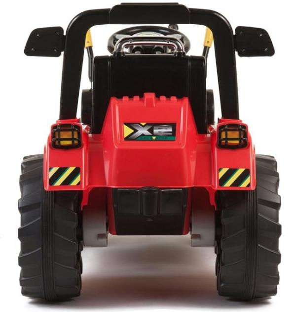 Electric kids ride on tractor - 12v - Red-7620
