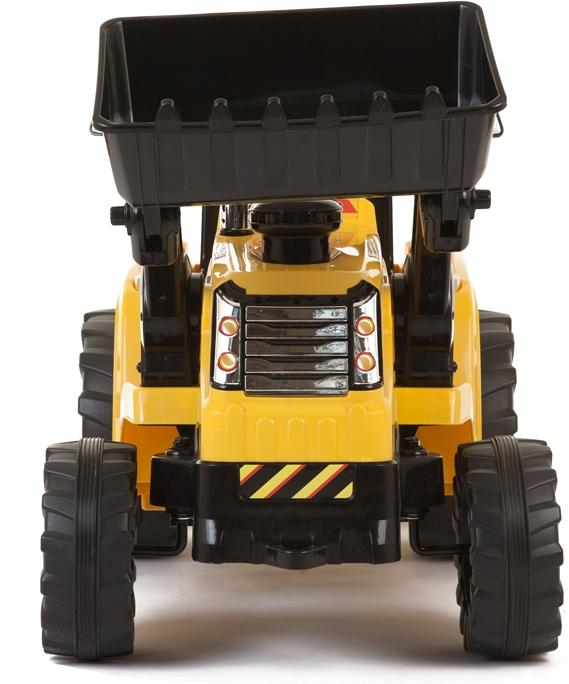 12v Kids Battery Ride on Tractor - Yellow-7678