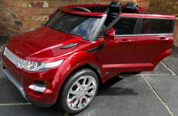 Kids Range Rover HSE Sport Style 12v Electric - Red-7987
