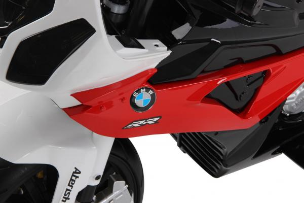 Kids BMW 1000 RR Ride on Electric Battery Sports Motor Bike 12v - Red-8136
