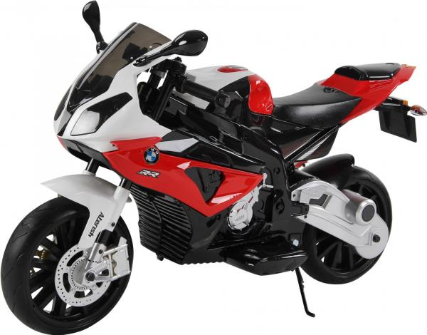 Kids BMW 1000 RR Ride on Electric Battery Sports Motor Bike 12v - Red-0