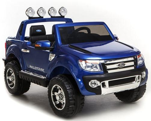 Licensed Ford Ranger Pickup 4 x 4 SUV - 12v Electric / Battery Ride on Car / Jeep Blue-8393