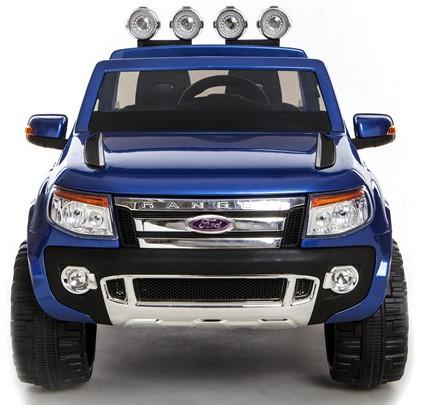 Licensed Ford Ranger Pickup 4 x 4 SUV - 12v Electric / Battery Ride on Car / Jeep Blue-8377