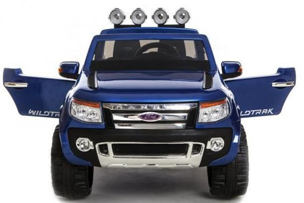 Licensed Ford Ranger Pickup 4 x 4 SUV - 12v Electric / Battery Ride on Car / Jeep Blue-8394