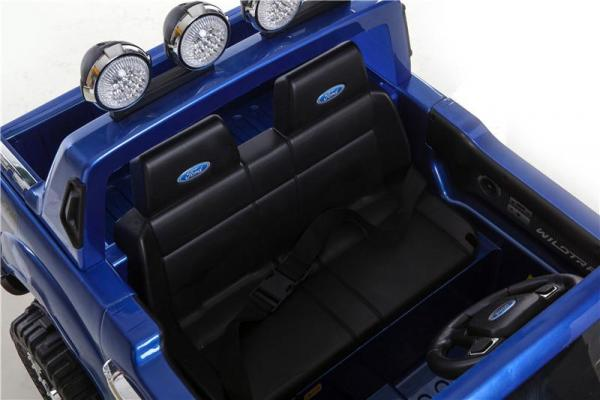 Licensed Ford Ranger Pickup 4 x 4 SUV - 12v Electric / Battery Ride on Car / Jeep Blue-8378