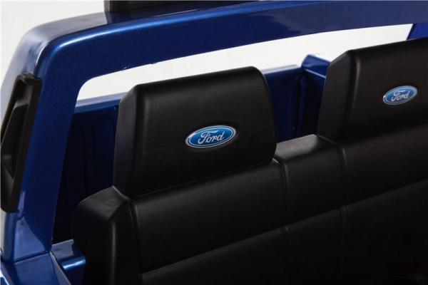 Licensed Ford Ranger Pickup 4 x 4 SUV - 12v Electric / Battery Ride on Car / Jeep Blue-8399