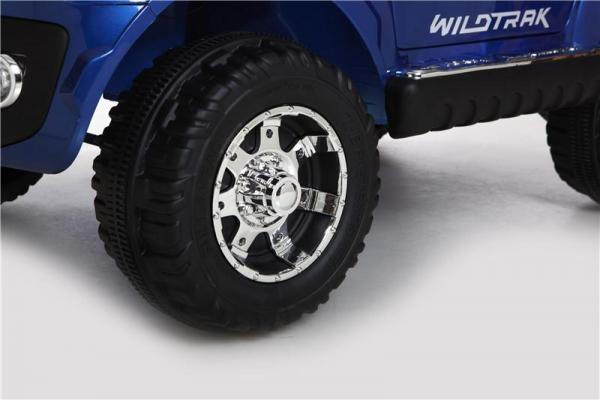 Licensed Ford Ranger Pickup 4 x 4 SUV - 12v Electric / Battery Ride on Car / Jeep Blue-8390