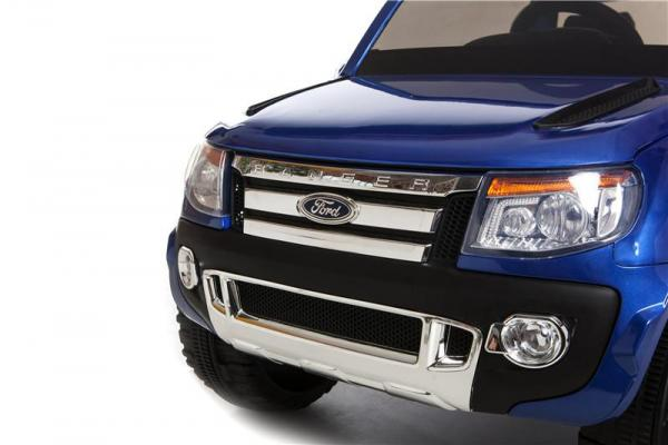 Licensed Ford Ranger Pickup 4 x 4 SUV - 12v Electric / Battery Ride on Car / Jeep Blue-8389