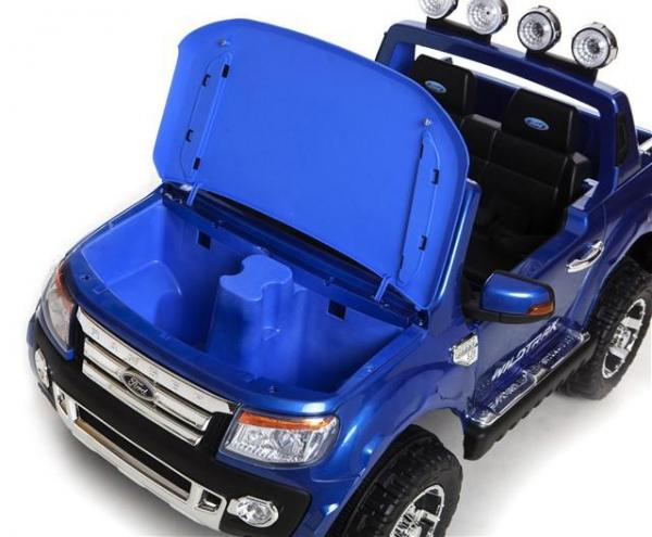 Licensed Ford Ranger Pickup 4 x 4 SUV - 12v Electric / Battery Ride on Car / Jeep Blue-8397