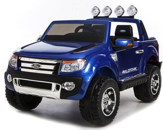 Licensed Ford Ranger Pickup 4 x 4 SUV - 12v Electric / Battery Ride on Car / Jeep Blue-8380