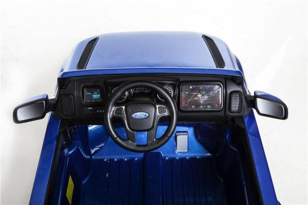 Licensed Ford Ranger Pickup 4 x 4 SUV - 12v Electric / Battery Ride on Car / Jeep Blue-8383