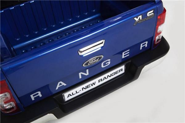 Licensed Ford Ranger Pickup 4 x 4 SUV - 12v Electric / Battery Ride on Car / Jeep Blue-8384