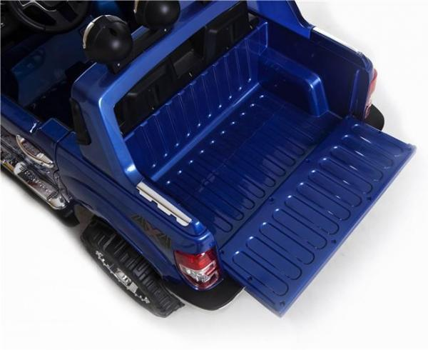 Licensed Ford Ranger Pickup 4 x 4 SUV - 12v Electric / Battery Ride on Car / Jeep Blue-8381