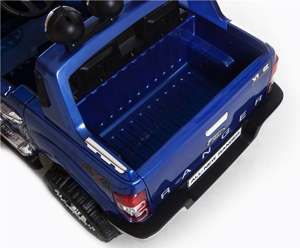 Licensed Ford Ranger Pickup 4 x 4 SUV - 12v Electric / Battery Ride on Car / Jeep Blue-8395