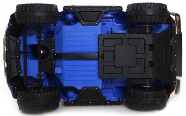 Licensed Ford Ranger Pickup 4 x 4 SUV - 12v Electric / Battery Ride on Car / Jeep Blue-8398