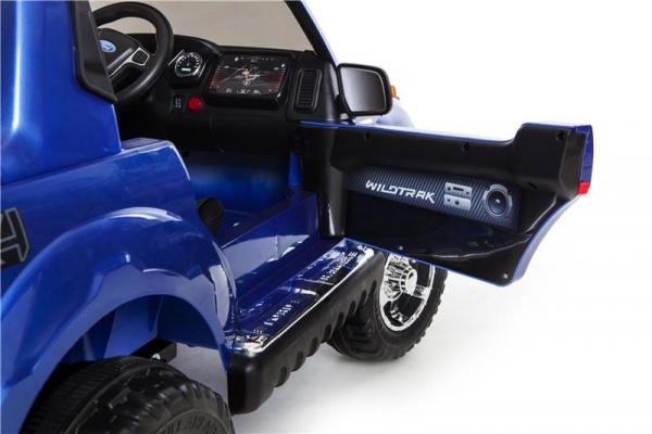 Licensed Ford Ranger Pickup 4 x 4 SUV - 12v Electric / Battery Ride on Car / Jeep Blue-8374
