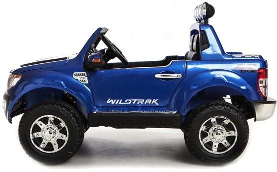 Licensed Ford Ranger Pickup 4 x 4 SUV - 12v Electric / Battery Ride on Car / Jeep Blue-8379