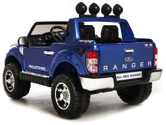 Licensed Ford Ranger Pickup 4 x 4 SUV - 12v Electric / Battery Ride on Car / Jeep Blue-8401