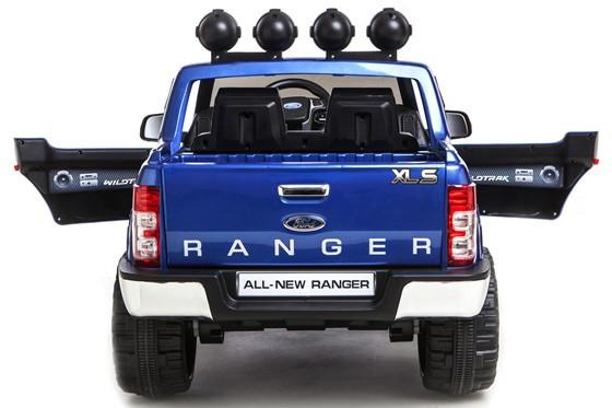 Licensed Ford Ranger Pickup 4 x 4 SUV - 12v Electric / Battery Ride on Car / Jeep Blue-8392