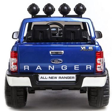 Licensed Ford Ranger Pickup 4 x 4 SUV - 12v Electric / Battery Ride on Car / Jeep Blue-8391