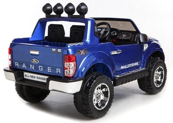 Licensed Ford Ranger Pickup 4 x 4 SUV - 12v Electric / Battery Ride on Car / Jeep Blue-8382
