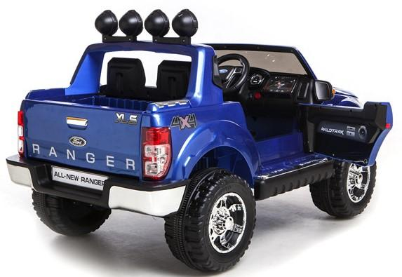 Licensed Ford Ranger Pickup 4 x 4 SUV - 12v Electric / Battery Ride on Car / Jeep Blue-8386
