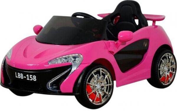 Kids Rocket MC12 Deluxe Sports Coupe 12v Electric / Battery Ride on Car - Pink-8631