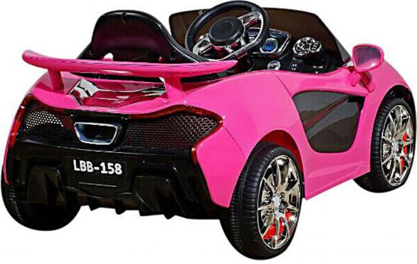 Kids Rocket MC12 Deluxe Sports Coupe 12v Electric / Battery Ride on Car - Pink-8630
