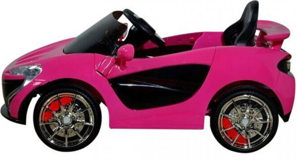 Kids Rocket MC12 Deluxe Sports Coupe 12v Electric / Battery Ride on Car - Pink-8629
