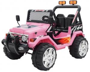 12v Ride on Jeep - 2 Seater Jeep - Pink12v Ride on Jeep - 2 Seater Jeep - Pink-0