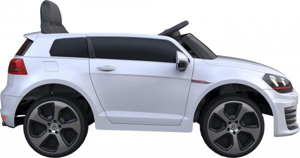 Kids VW Golf GTI Hot Hatch Sport 12v Electric Car - White-9557