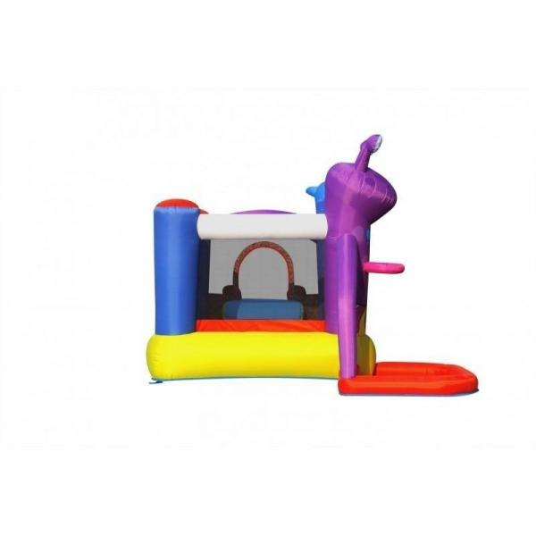 Duplay Happy Hop Friends on Mars Bouncy Castle with Slide and Ball Pit-10505