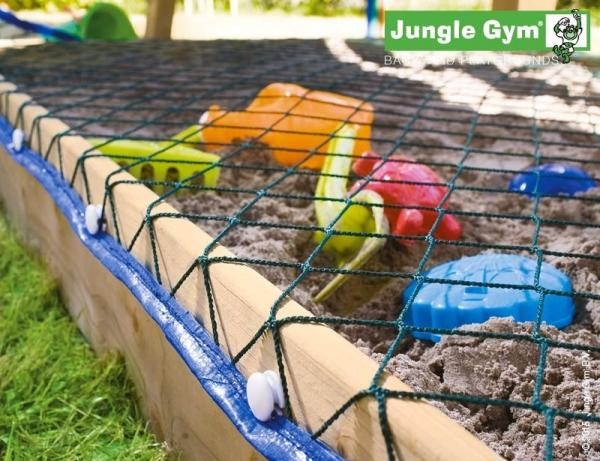 Jungle Gym Wooden Cubby Climbing Frame / Playset with Climb Xtra module-9978