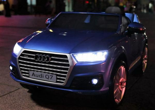 Audi ride on car 12v - Q7 Licenced - Blue-10856