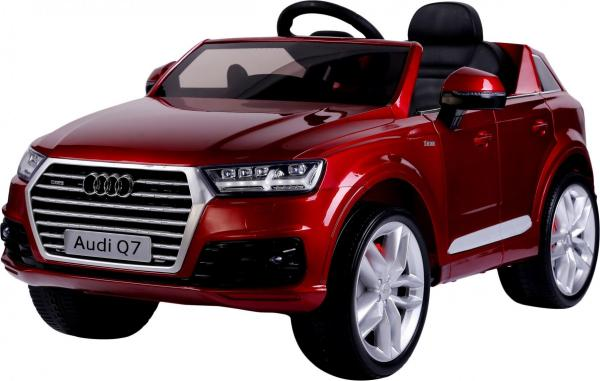 Kids Audi Q7 Licenced 12v Electric ride on car - Red-10849