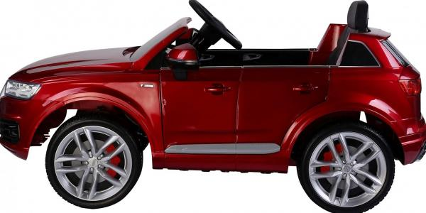 Kids Audi Q7 Licenced 12v Electric ride on car - Red-10854