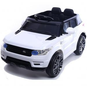 Kids Mini Range Rover HSE Sport Style 12v Electric Compact Ride on Jeep - White-0