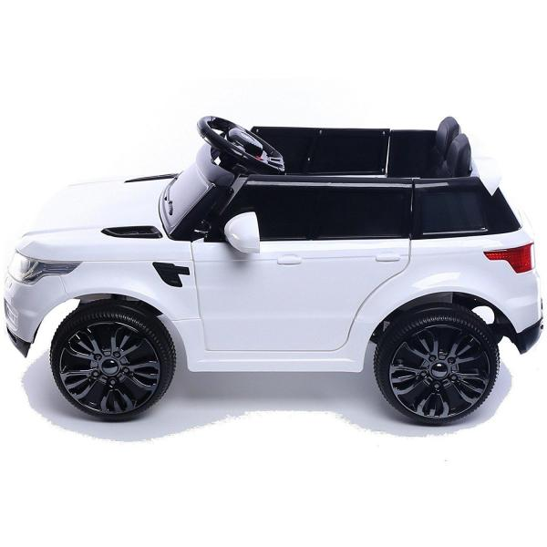 Kids Mini Range Rover HSE Sport Style 12v Electric Compact Ride on Jeep - White-13836