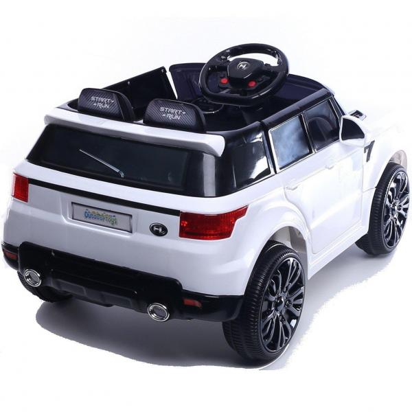 Kids Mini Range Rover HSE Sport Style 12v Electric Compact Ride on Jeep - White-13835