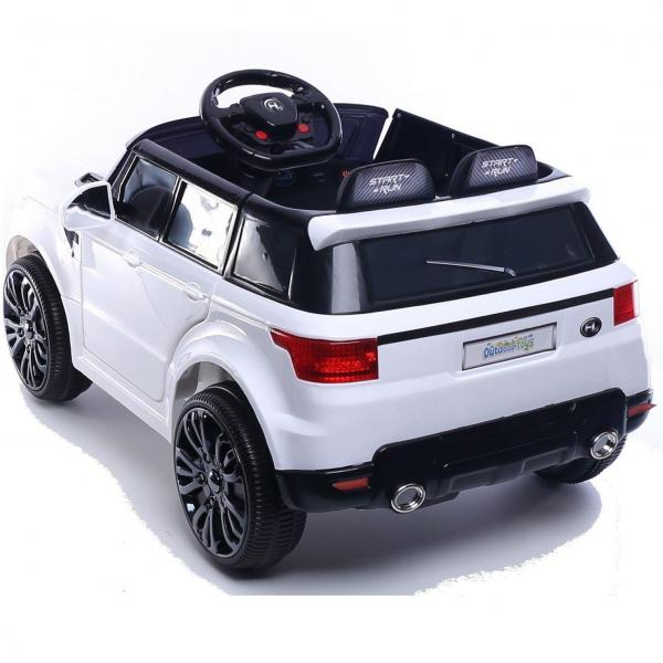 Kids Mini Range Rover HSE Sport Style 12v Electric Compact Ride on Jeep - White-13838