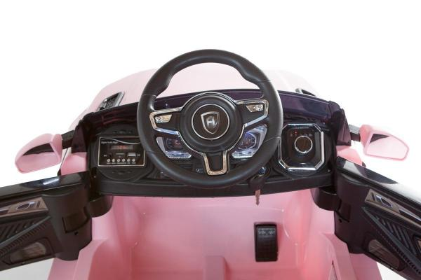 Kids Range Rover Evoque Style - 12v Electric / Battery Ride on Car - Pink-13297