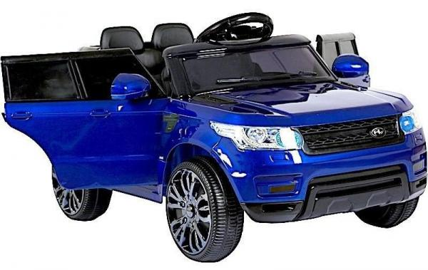 Kids Mini Range Rover HSE Sport Style 12v Electric Compact Ride on Jeep - Blue-11425