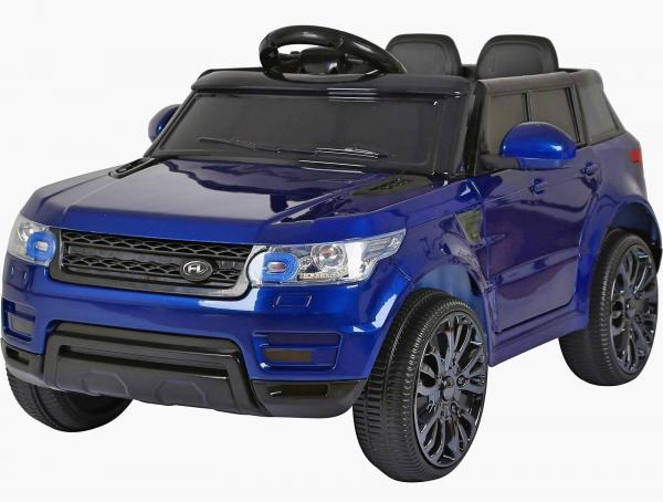 Kids Mini Range Rover HSE Sport Style 12v Electric Compact Ride on Jeep - Blue-0
