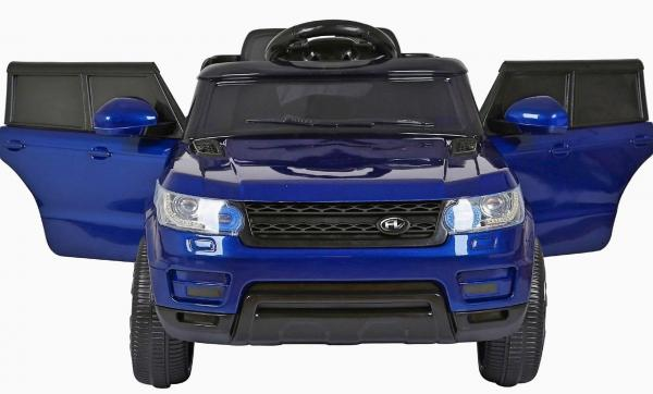 Kids Mini Range Rover HSE Sport Style 12v Electric Compact Ride on Jeep - Blue-11427