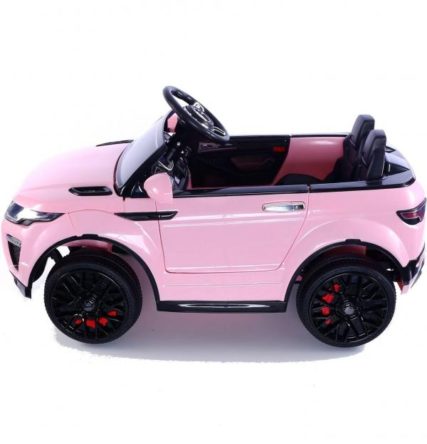 Kids Range Rover Evoque Style - 12v Electric / Battery Ride on Car - Pink-14966