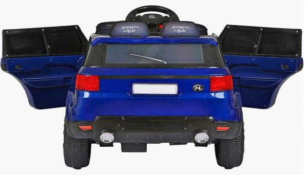 Kids Mini Range Rover HSE Sport Style 12v Electric Compact Ride on Jeep - Blue-11431