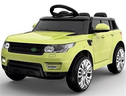 Kids Mini Range Rover HSE Sport Style 12v Electric Compact Jeep - Green-0